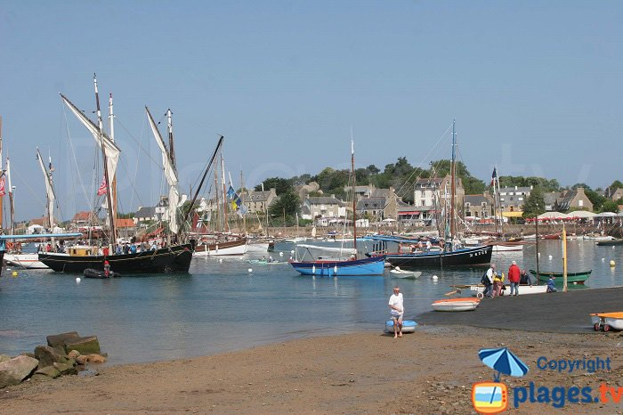 Port of Perros in Brittany