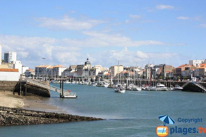 Les Sables d'Olonne ans its port