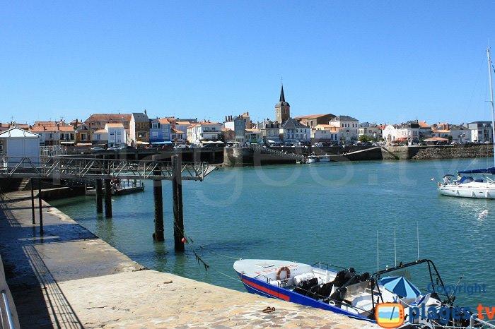 Port of Les Sables d'Olonne - France