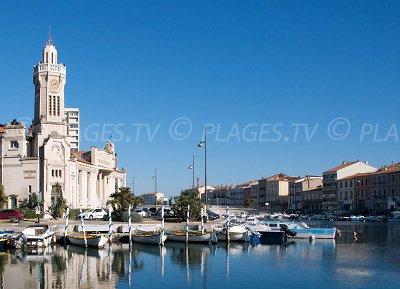 Porto di Sète in Francia