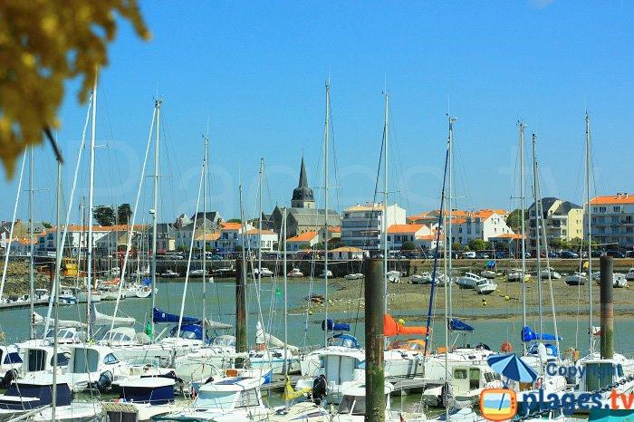 Port of Saint Gilles Croix de Vie