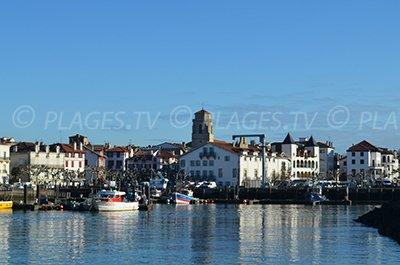 Porto di St Jean de Luz - Francia