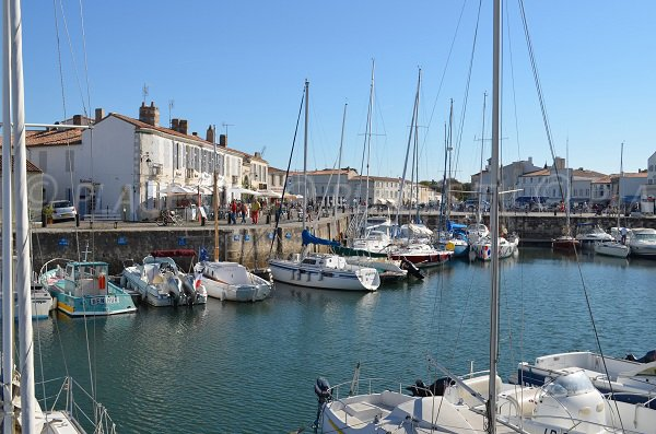 The port of Saint Martin de Ré in France - Ile de Re
