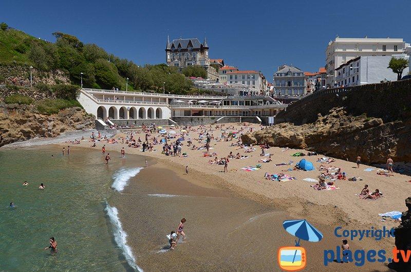 Port Vieux à Biarritz : une magnifique crique