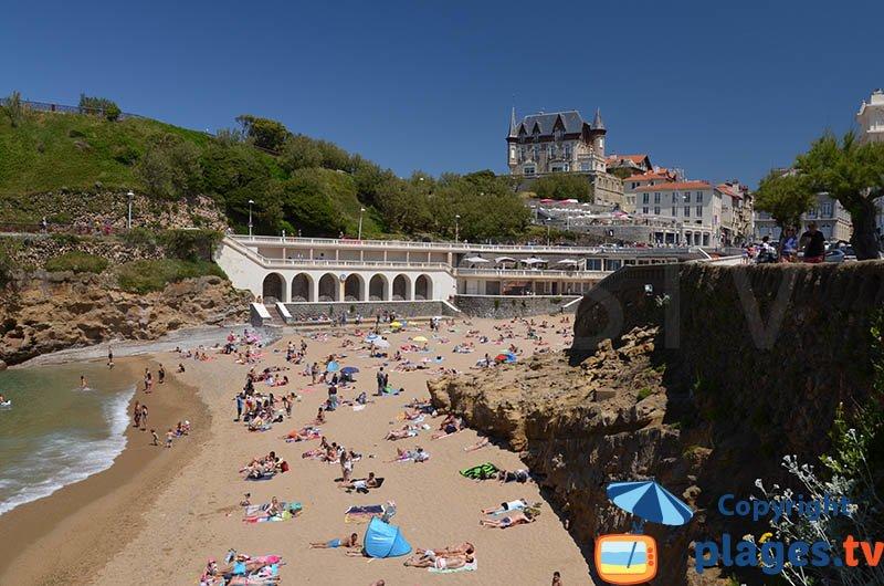 Plage de Port Vieux : l'une des plus belles plages de Biarritz