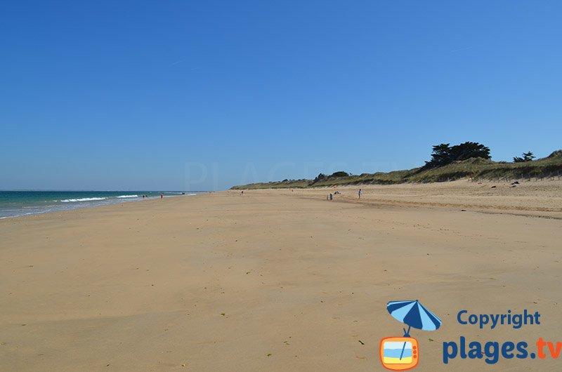 Portes en Ré et sa belle plage