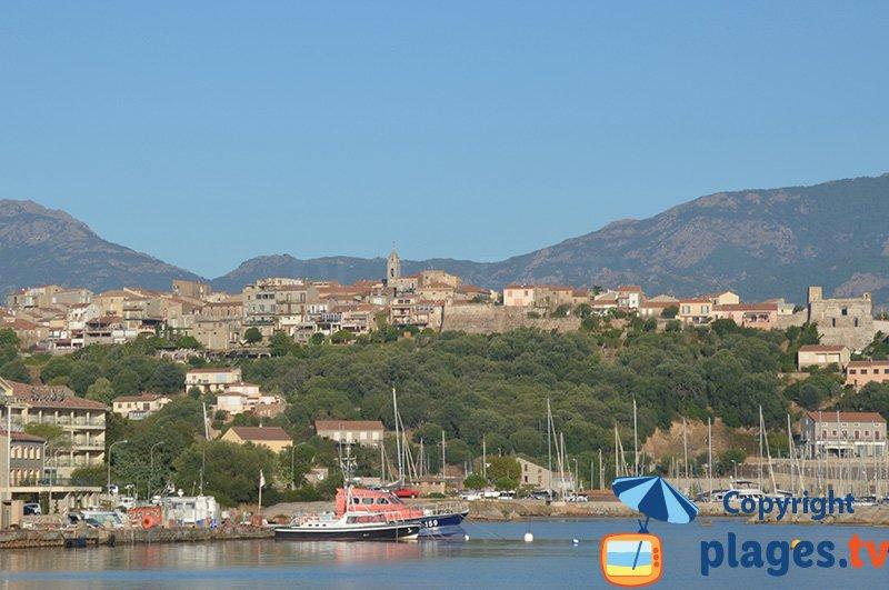 Porto-Vecchio e porto - Corsica