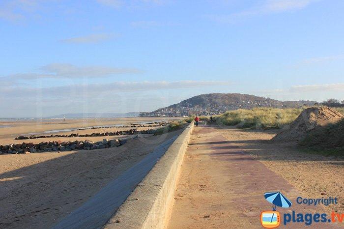 Promenade autour de la pointe de Cabourg