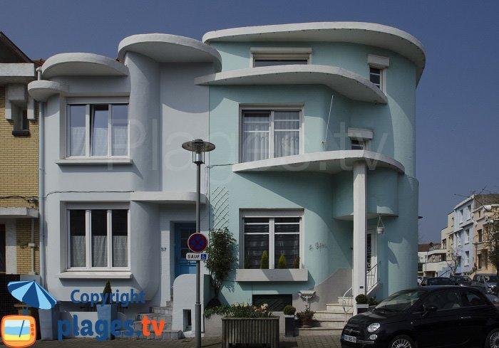 Immeubles du quartier Excentric de Dunkerque