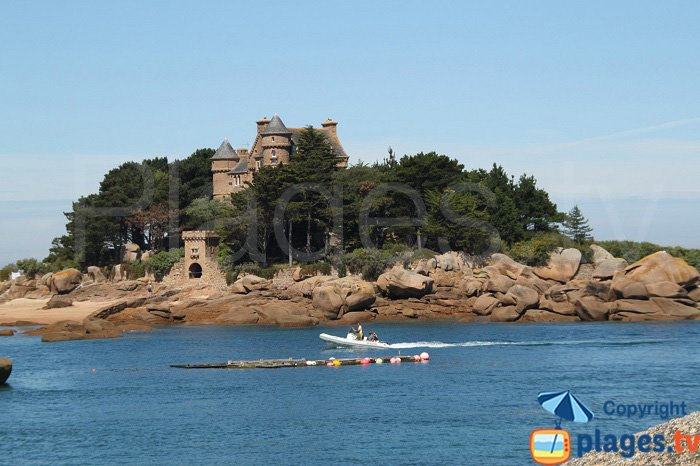 Castle of Cost Aeres - Saint Guirec