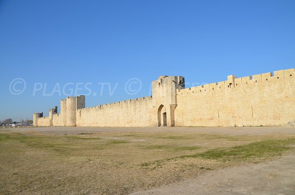 The ramparts of Aigues Mortes