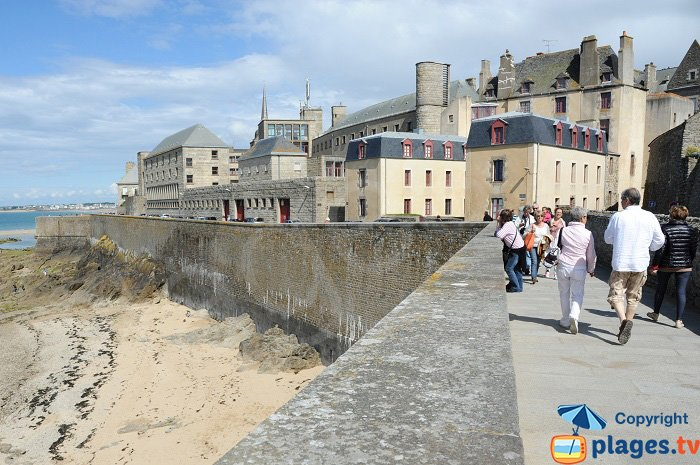 Ramparts of Saint Malo