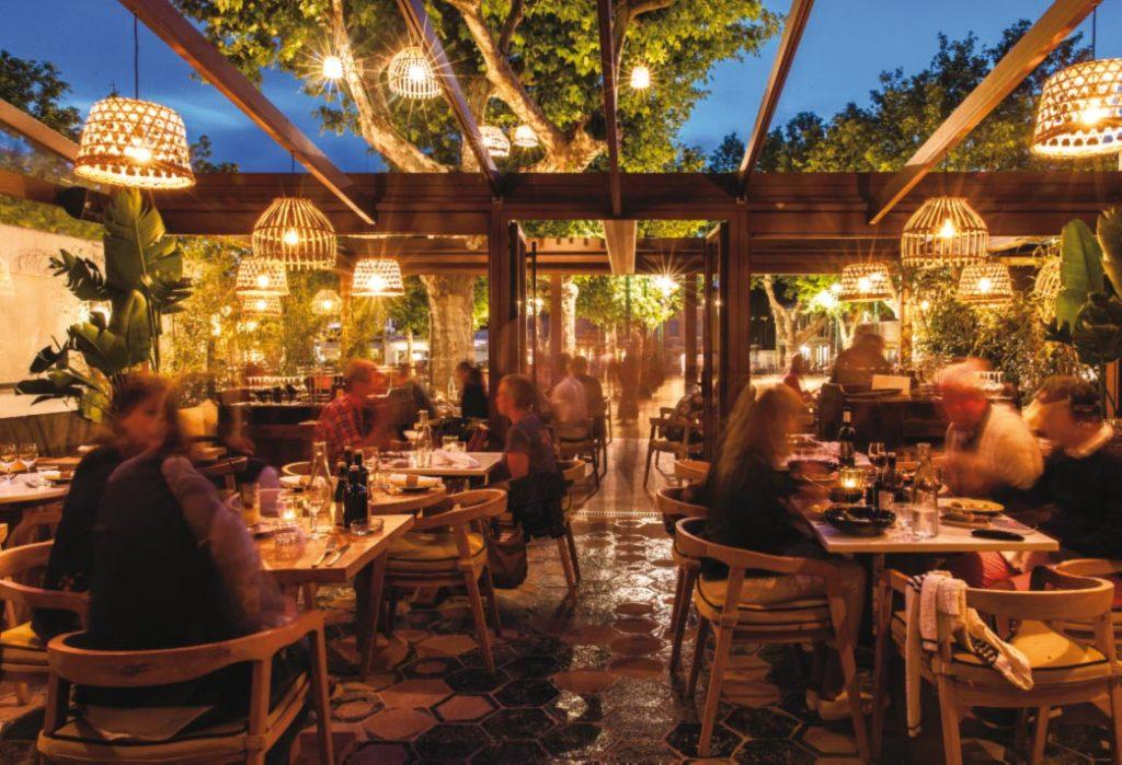 Terrasse du restaurant Le Pablo