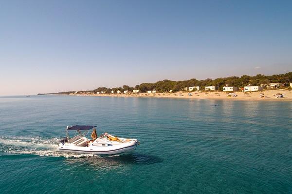 Bungalow sur la plage de Corse