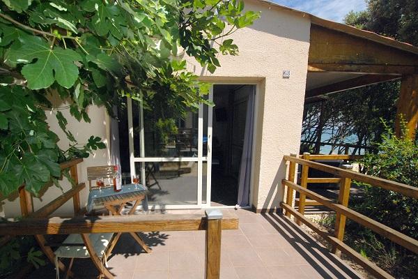 Villa naturiste en Corse