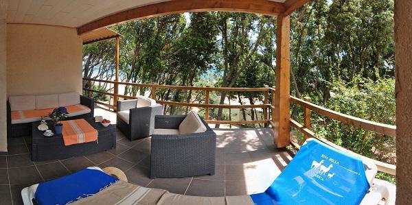 Logement naturiste en Corse - Riva Bella