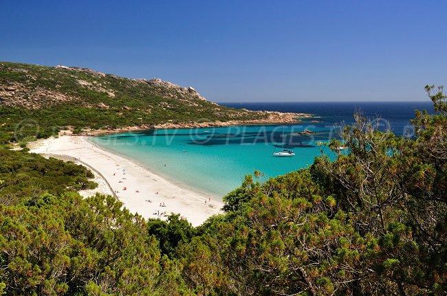 Roccapina plage - Sartène