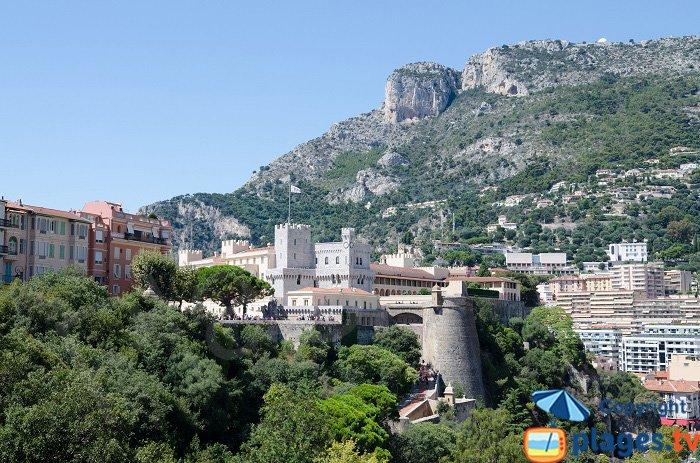 Rocher de Monaco avec le palais