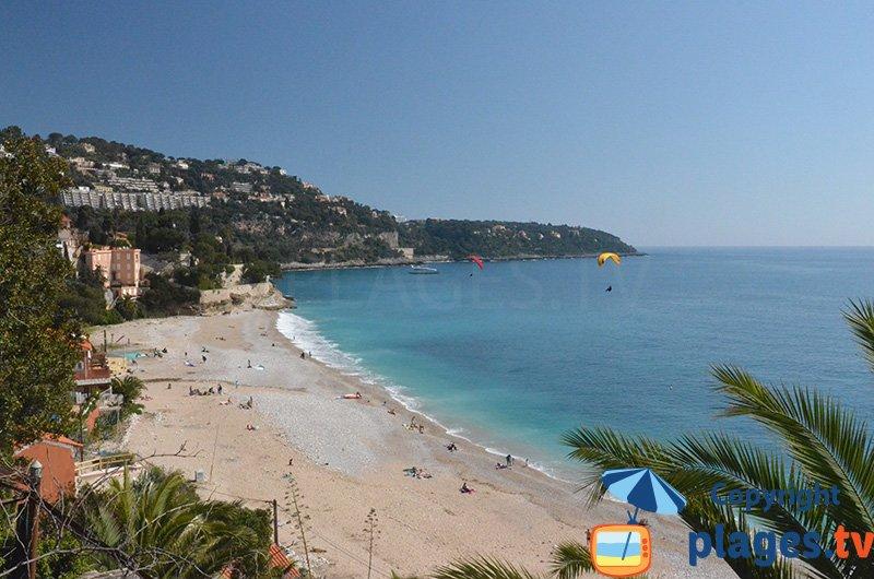 Plage préservée à Roquebrune Cap Martin - Golfe Bleu