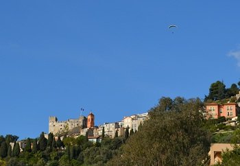 Roquebrune Cap Martin in France - the castle
