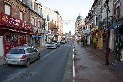 Centre ville d'Houlgate en Normandie