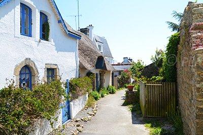 Ruelle de l'ile aux Moines (Morbihan)