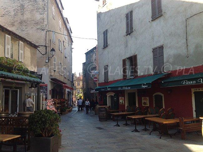 Lane of St Florent - Corsica