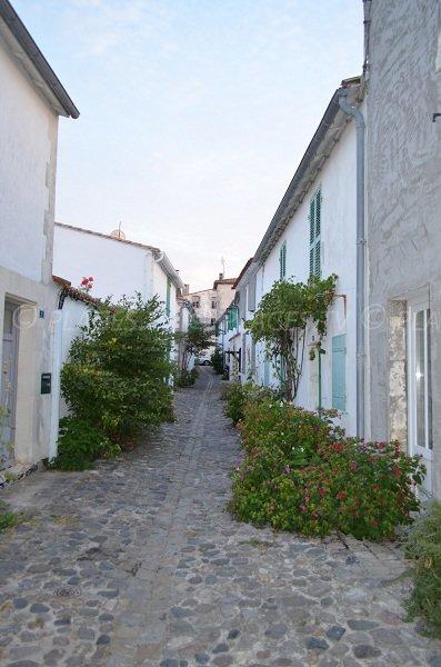 Street of St Martin de Ré