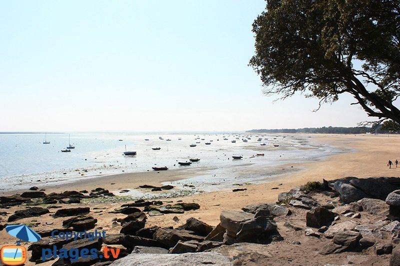Les Sableaux à marée basse - Noirmoutier