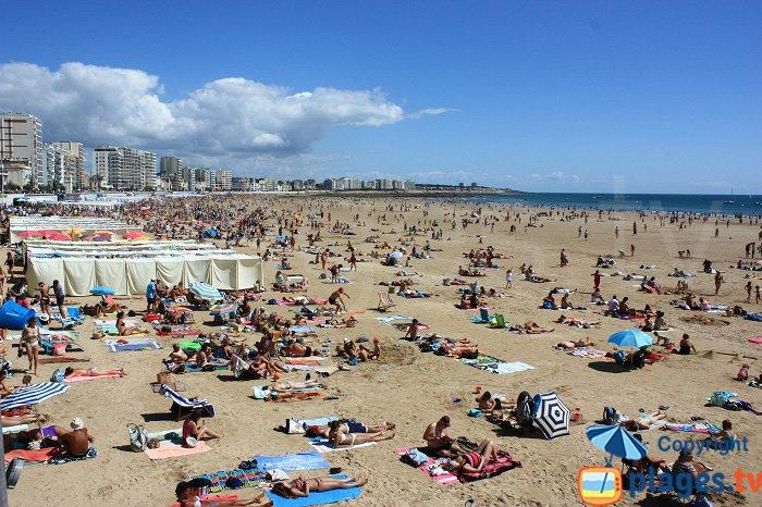 Les Sables d'Olonne et sa grande plage