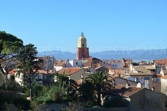 St Tropez avec son célèbre clocher