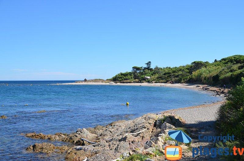 Plage de la Moutte : le côté confidentiel de St Tropez