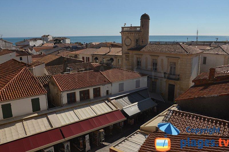 Les toits des Saintes Maries de la Mer