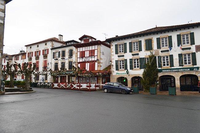 Sare nei Paesi Baschi in Francia
