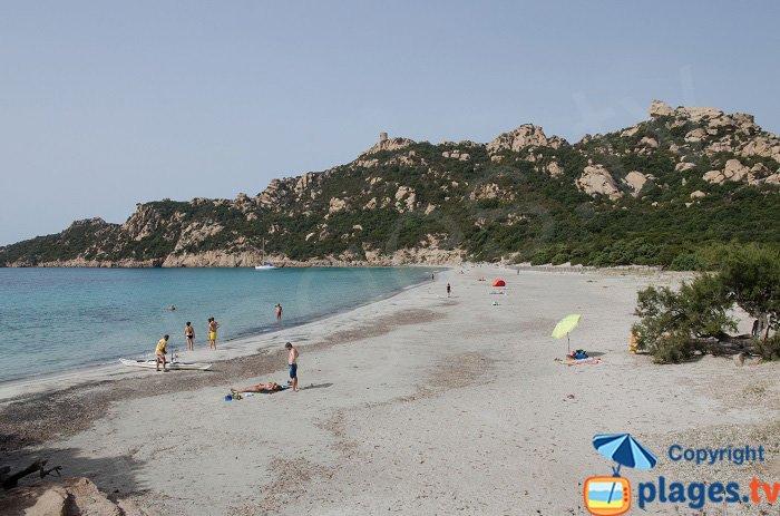 Sartène - spiaggia di Roccapina - Corsica