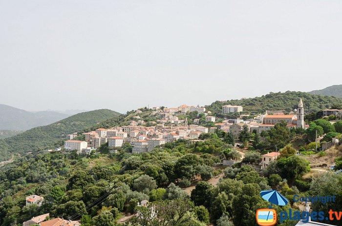 Sartène: il paese - Corsica
