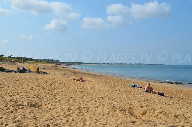 Saumonards beach - Oleron