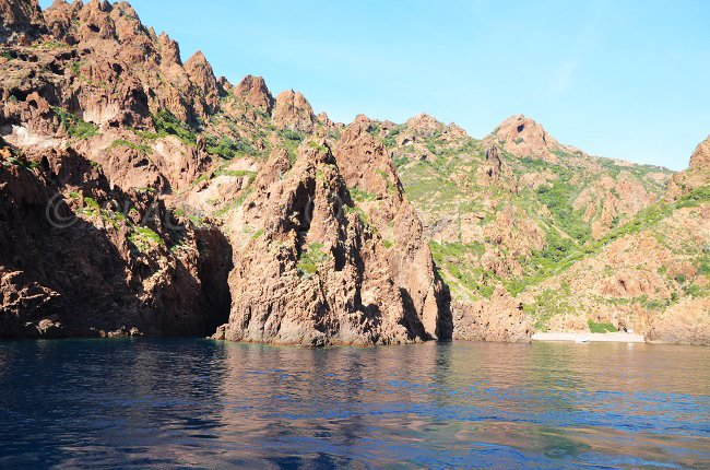 Love Cove in Scandola