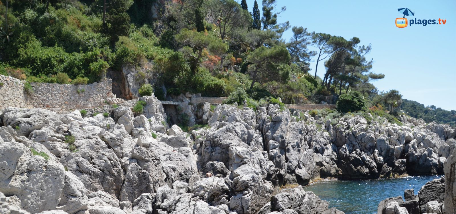 sentier du littoral du cap ferrat