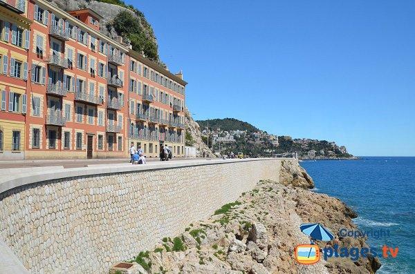 Bains de la Police beach in Nice