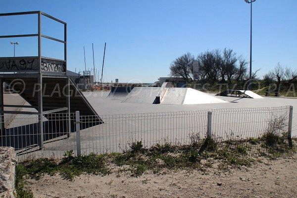Skate parc a La Grande Motte - Francia