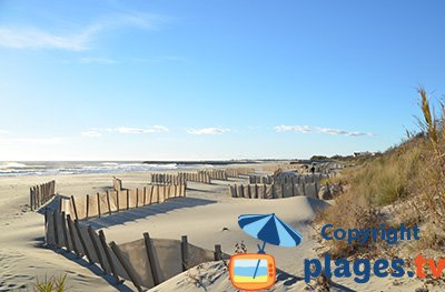 Beach in Saintes Maries de la Mer - France - Camargue