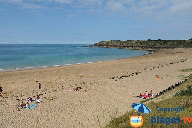 Belle plage de St Coulomb - Les Chevrets