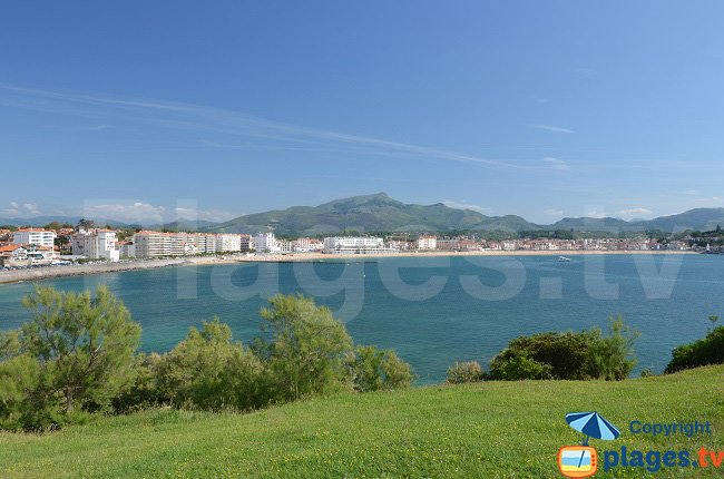 The bay of Saint Jean de Luz