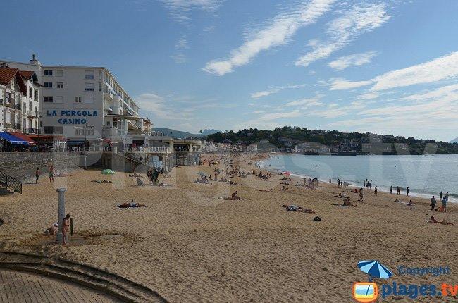 Grande Beach and the Pergola