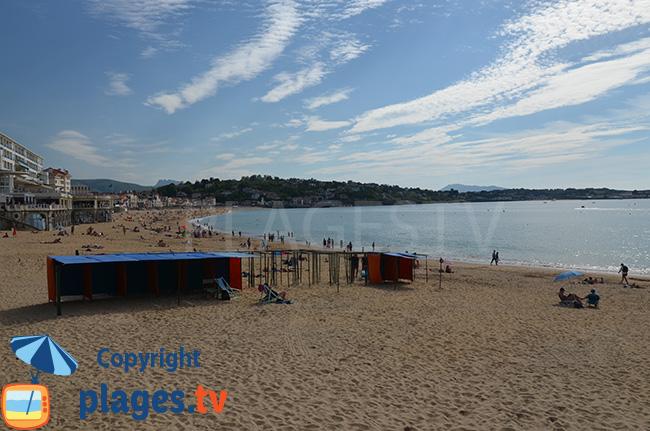 Great beach of St Jean de Luz