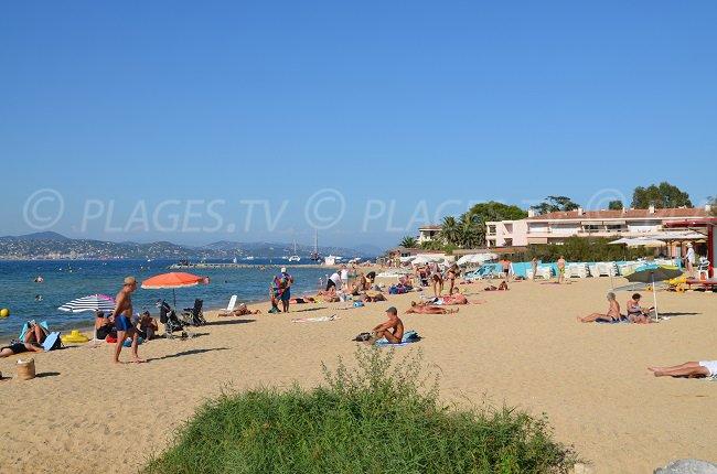 Spiaggia della Bouillabaisse - la più conosciuta a St Tropez