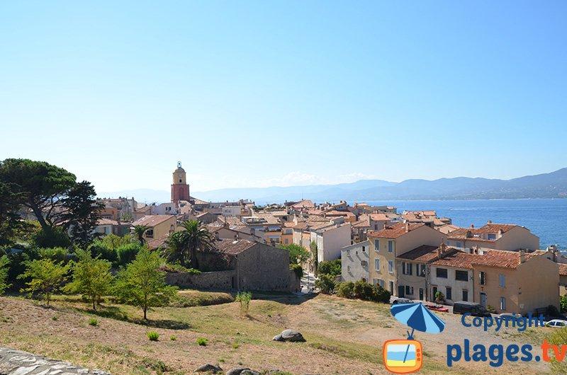 Vue générale de St Tropez