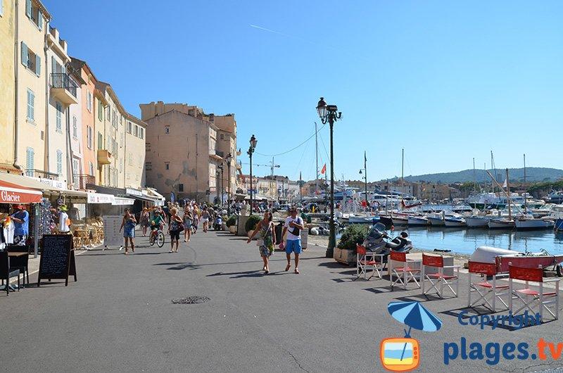 St Tropez sur le port