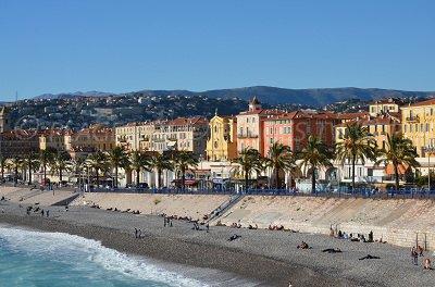 Nice, la vieille ville et la plage